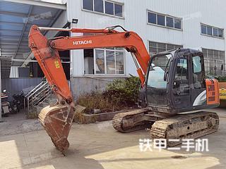 日立ZX70-5A挖掘机实拍图片