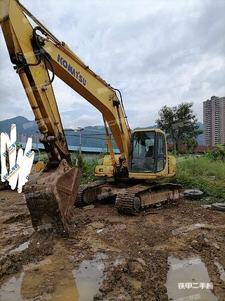 广东-肇庆市二手小松PC200-6E挖掘机实拍照片