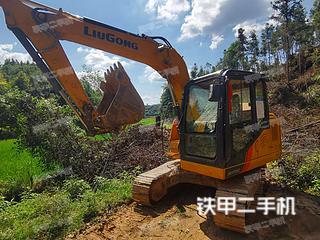江西-景德镇市二手柳工CLG9075E挖掘机实拍照片