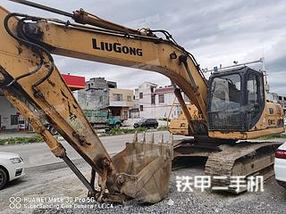 柳工CLG922D挖掘机实拍图片