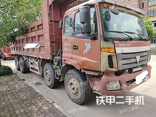 福田欧曼8X4工程自卸车实拍图片