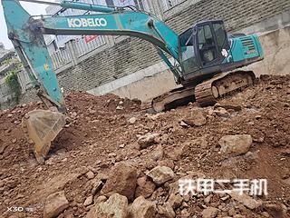 四川-绵阳市二手神钢SK260LC-10挖掘机实拍照片