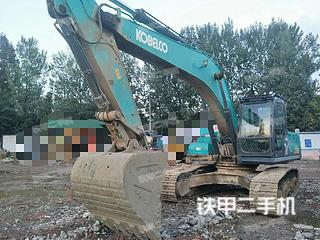 四川-成都市二手神钢SK270D-8挖掘机实拍照片
