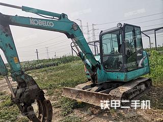 邢台神钢SK60-8挖掘机实拍图片