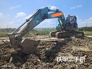 浙江-嘉兴市二手神钢SK200-8挖掘机实拍照片