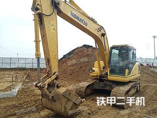 小松PC160LC-7挖掘机实拍图片