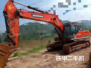 临沂斗山DX380LC-9C挖掘机实拍图片