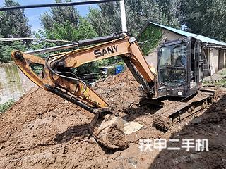 山东-济宁市二手三一重工SY60C挖掘机实拍照片