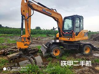 犀牛重工XN90-Y挖掘机实拍图片