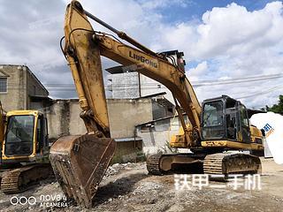 广西-南宁市二手柳工CLG925D挖掘机实拍照片