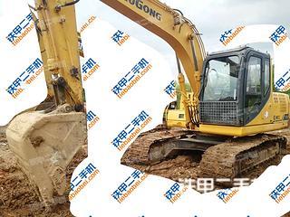 柳工CLG915D挖掘机实拍图片