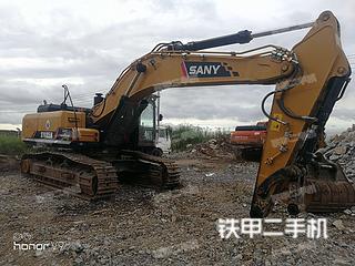 山东-威海市二手三一重工SY485H挖掘机实拍照片
