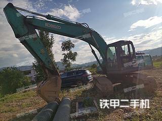 湖南-永州市二手神钢SK200-8挖掘机实拍照片