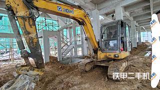 山东-烟台市二手徐工XE60挖掘机实拍照片