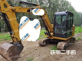 北京卡特彼勒305.5E2小型液压挖掘机实拍图片