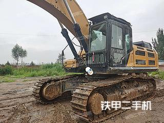鸡西三一重工SY485H挖掘机实拍图片