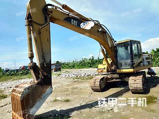 广东-广州市二手卡特彼勒320B挖掘机实拍照片