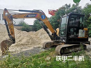 三一重工SY55C挖掘機實拍圖片
