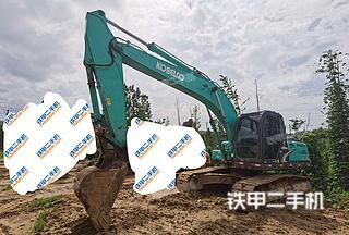 北京神钢SK210LC-8挖掘机实拍图片