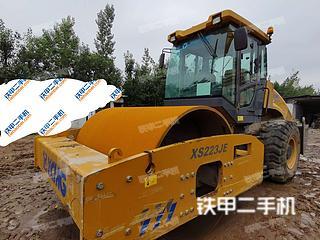 四川-成都市二手徐工XS223JE压路机实拍照片