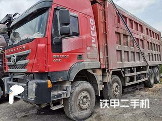 广汽日野6X2工程自卸车实拍图片