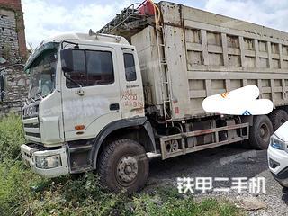 一汽解放6X4工程自卸车实拍图片