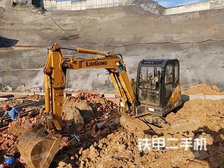 安康柳工CLG906D挖掘機實拍圖片