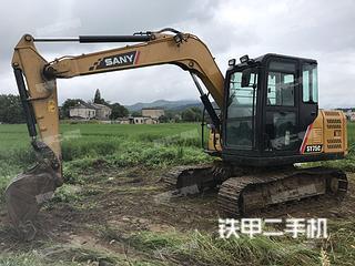 安徽-安庆市二手三一重工SY75C挖掘机实拍照片