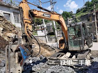 湖北-宜昌市二手三一重工SY75C挖掘机实拍照片