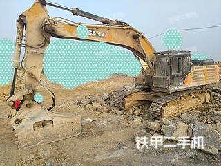 河南-鹤壁市二手三一重工SY485H挖掘机实拍照片