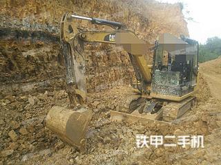 贵州-毕节市二手卡特彼勒305.5E2小型液压挖掘机实拍照片