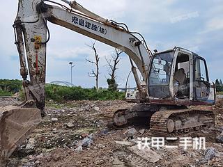 鸡西日立EX120-5挖掘机实拍图片