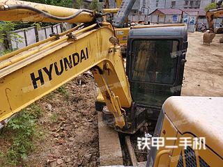 安康現代R60-7挖掘機實拍圖片