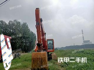 山东-菏泽市二手斗山DH220LC-7挖掘机实拍照片