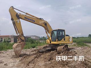 小松PC210LC-8挖掘机实拍图片