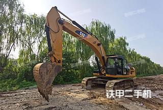 卡特彼勒336D2L液压挖掘机实拍图片
