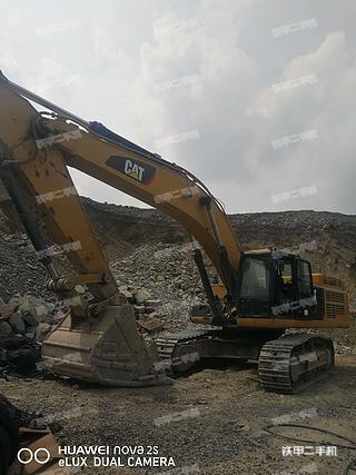 北京卡特彼勒349D2液压挖掘机实拍图片