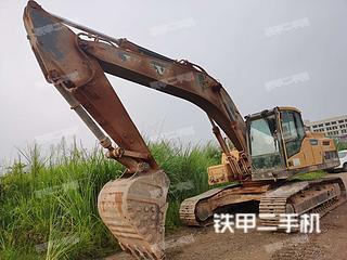 湖北-宜昌市二手沃尔沃EC250DL挖掘机实拍照片