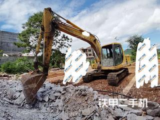 湖南-永州市二手小松PC120-6E挖掘机实拍照片