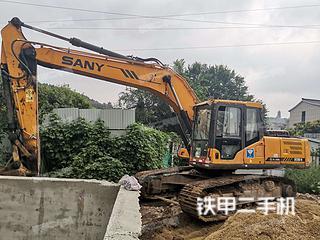 山东-淄博市二手三一重工SY215C挖掘机实拍照片