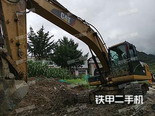 安康卡特彼勒320D2液壓挖掘機實拍圖片