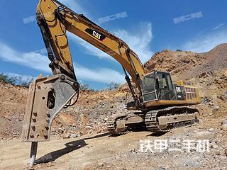 卡特彼勒349D2L液压挖掘机实拍图片