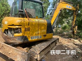 山东-潍坊市二手徐工XE60CA挖掘机实拍照片