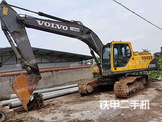 四川-广安市二手沃尔沃EC240B挖掘机实拍照片