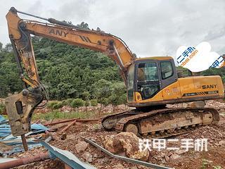 湖南-怀化市二手三一重工SY215C挖掘机实拍照片