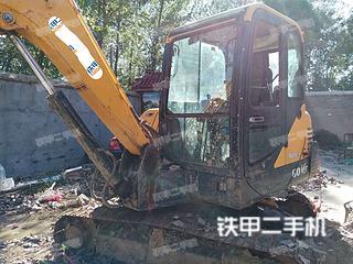 現代R 60VS挖掘機實拍圖片