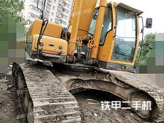 山西-太原市二手现代R275LC-9T挖掘机实拍照片