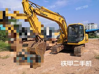 湖南-株洲市二手小松PC120-6挖掘机实拍照片