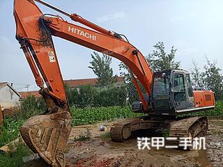 日立ZX260LCH-3G挖掘機實拍圖片