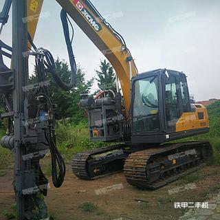 徐工XE155D挖掘机实拍图片